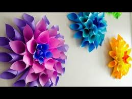 How To Make Paper Cones For Flower Petals Paper How To Make Cone Flower Craft How To Make Paper Craft Easy