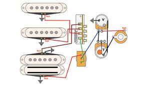 mod garage a cool four pickup wiring premier guitar mod garage trad strat and bridge bucker tones