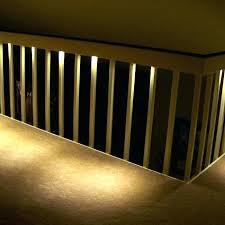 deck stair lighting ideas. Stair Lights Idea Solar For Deck Stairs Under Recessed Lighting Motion Sensor Ideas E