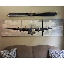 vintage airplane triptych wall art designs aviation on aeroplane metal wall art with aviation wall art yasaman ramezani