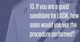 Why Would You Be A Good Candidate Lasik Quiz Eye Doctors Of Washington Dc