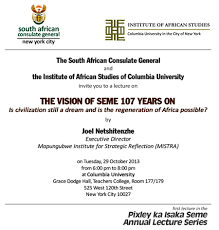 2013 Calendar Of Events South African Consulate General In