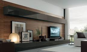 wall units living room