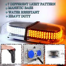 Snow Plow Emergency Lights Details About Zone Tech 240 Led Emergency Warning Roof Top Strobe Snow Plow Light Amber White
