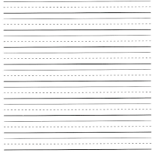 Writing Lines For Kindergarten Primary Lines Paper Cryptosweekly Co