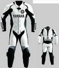 Details About Yamaha Motorbike Racing Leather Suit For Motorcycle Ride Ce Protections