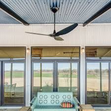 corrugated metal porch ceiling with under plus on sweating together roofing ps ceiling