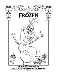 Small Picture Frozen Printable Snowman Coloring Page Printable Coloring Pages