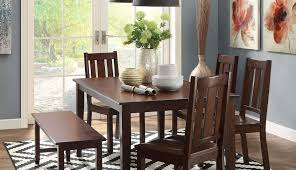 bench gallery round tables room ashley furniture john hardwood chairs wood solid seater dining for and