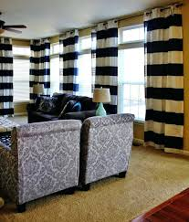 black and white striped curtains euages net