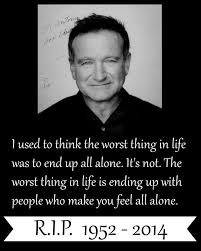 Robin Williams Quotes Simple Charming Life Pattern Robin Williams Quote I Used To Think The