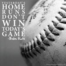 Inspirational Baseball Quotes