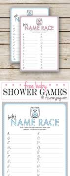 Free Printable Baby Shower Guess The Baby Food GameBaby Name Games For Baby Shower