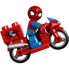 The spiderman versus coloring page. Lego Duplo Marvel Spider Man Web Bike Workshop Building Set 10607 Walmart Com Walmart Com