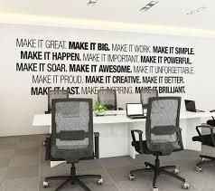 creative office decor. Modren Office Arte De Pared Oficina  Corporativo Fuentes Tipografa  Etiqueta Engomada La Oficina Office Decor Art  To Creative O
