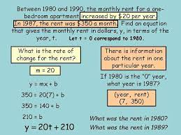 math 8 h problem solving using linear