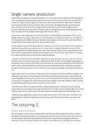 essay on horror movies essay on horror movies single camera production single cameraproductioniswhenaproduction tv or filmusesonlyone cameratofilmat any given time