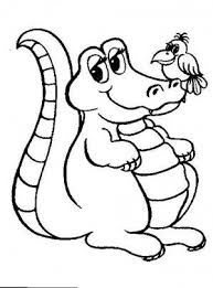 Small Picture 17 best Crocodiles coloring book images on Pinterest Coloring