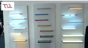 glass shelf lighting. Awesome Led Glass Shelf Lighting Q3083532 Cabinet Tempered . I