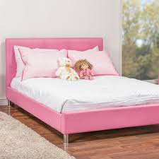 full size upholstered bed. Baxton Studio Barbara Pink Full Upholstered Bed Size O
