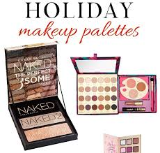the parties the gift ping the wrapping the decorating all the excitement and being a true beauty addict i also love holiday makeup palettes