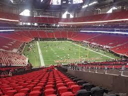 Mercedes Stadium Seating Chart Atlanta 25 Unexpected Mercedes Benz Stadium Seat