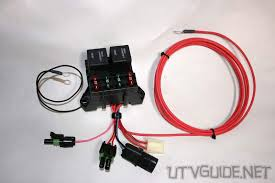 12v accessory guide for utvs utv guide accessory wiring harness honda pioneer 1000 Accessory Wiring Harness #13