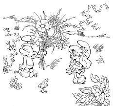 Immagini Dei Puffi Da Colorare Anime Cartoni Animati