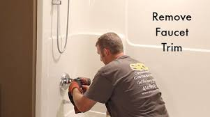 How to remove a bathtub Cast Iron Home Repair Tutor How To Remove Fiberglass Bathtub And Surround Home Repair Tutor
