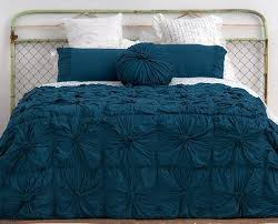 duvet covers king teal rosette bedding in petrol rosette quilts at home