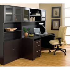image of great computer desk hutch