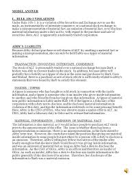 corporations essay series essay question model answer abby  corporations essay series essay question 2 model answer abby chief executive officer of oilco