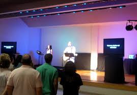 church lighting ideas. Stage Design (April 2009) Church Lighting Ideas