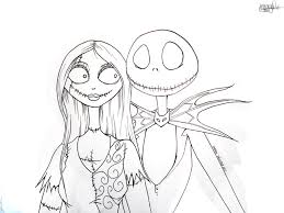 Small Picture Jack Skellington Coloring Pages Getcoloringpages regarding Jack