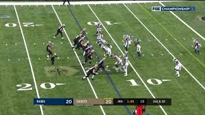 Sean Payton livid after no penalty on third-down incompletion