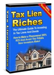 tax lien investing tax lien deed investing guide