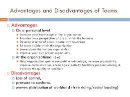 Disadvantages Of Teamwork Interpersonal Communication And Teamwork Module 5 Chapter