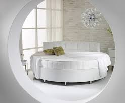 modern stylish furniture. Modern Stylish White Round Bed Modern Bedroom Furniture Ideas Elegant  Design