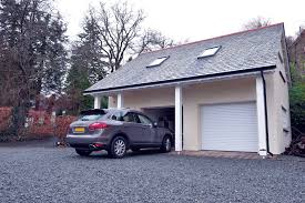 seceuroglide excel fitted to detached garage
