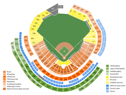 Washington Nationals Seating Chart Detailed Sports Simplyitickets