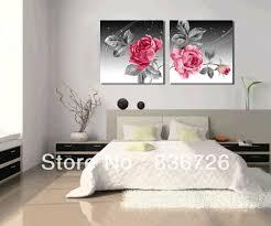 Aliexpress Com Buy 2 Piece Canvas Wall Art Flower Wall Canvas