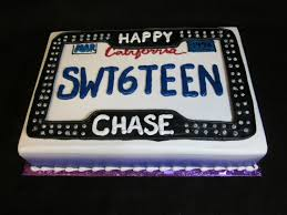 13 License For 16 Year Old Boys Birthday Cakes Photo 16 Year Old
