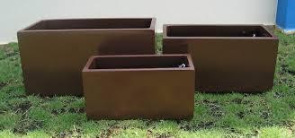 plastic rectangular planter  gardens and landscapings decoration