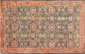 antique oversized arts crafts william morris rug 49912