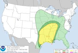 Convective Outlook Chart Wild Bills Weather Blog All Weather All The Time