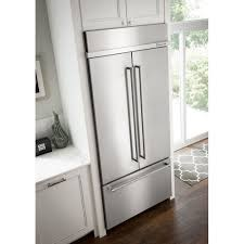 36 Refrigerators Kbfn506ess Kitchenaid 36 208 Cu Ft Built In French Door