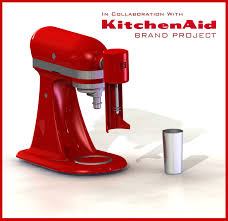 Designer Kitchen Aid Mixers Kitchenaid Brand Collaborative Project Milkshake Mixer Attachment