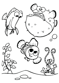 Nemo Coloring Pages Finding Coloring Pages Printable Finding