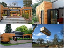 prefab homes design architecture creative and fancy wood ...
