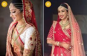 beautiful indian bridal makeup looks gujarati bridal looks 3 4